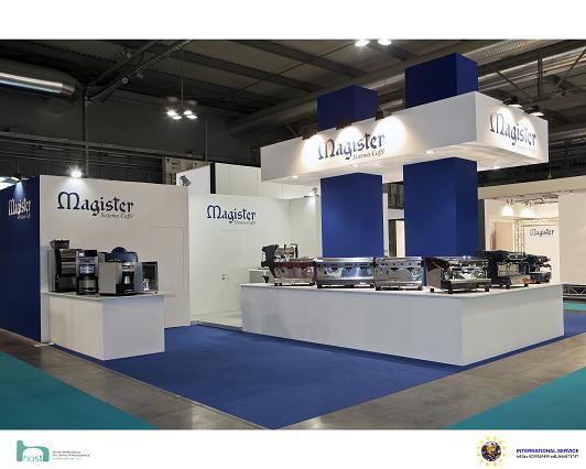 Expo Stand Emirati : Magister sistema caffè